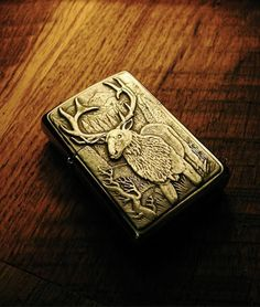 Iron Crow Rockin Vintage - Rare! 1998 Custom ZIppo lighter with SILVER Elk and mountain Scene Free Shipping! , $75.00 (http://www.ironcrowvintage.com/products/rare-1998-custom-zippo-lighter-with-silver-elk-and-mountain-scene-free-shipping.html)