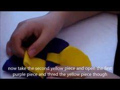DIY how to make a heart shape bag NO SEW! - YouTube