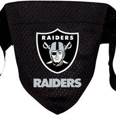 Oakland Raiders NFL Licensed Dog Bandana