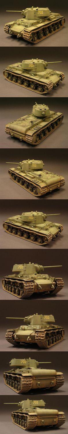 KV-1 1/35 Scale Model