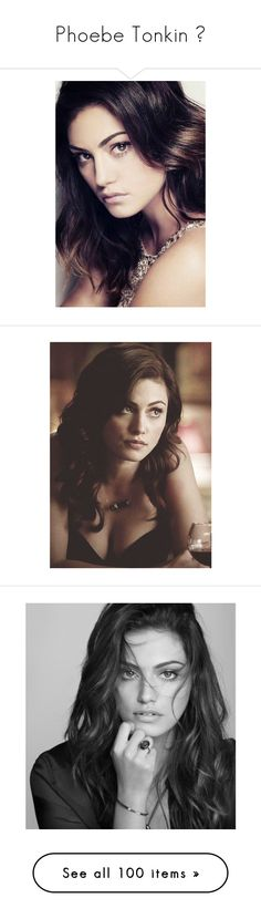 """""""Phoebe Tonkin ♥"""" by miky94 ❤ liked on Polyvore featuring phoebe tonkin, people, pictures, celebs, models, hair, celebrities, girls, characters and tonkin"""