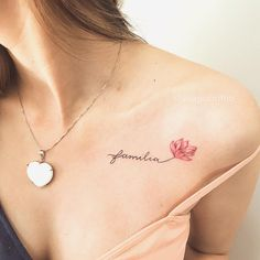 14 sexy tattoos for women with meaning Mini Tattoos, Trendy Tattoos, Foot Tattoos, Body Art Tattoos, Tattoos For Women, Tatoos, Flower Tattoos, Name Flower Tattoo, Delicate Flower Tattoo