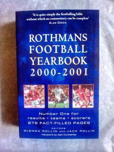 ROTHMANS!FOOTBALL YEARBOOK!2000-2001!NEU!