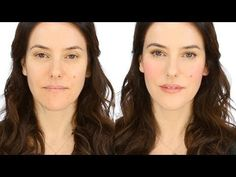 Minimal Makeup Tutorial - Rosy Flush - YouTube
