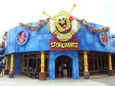 Here's SpongeBob storepants