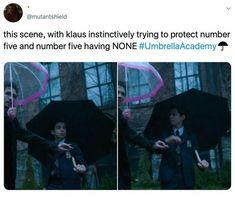"15 Posts About ""The Umbrella Academy"" That Pro. - 15 Posts About ""The Umbrella Academy"" That Pro. - 15 Posts About ""The Umbrella Academy"" That Pro. - 15 Posts About ""The Umbrella Academy"" That Pro. Best Umbrella, Under My Umbrella, Funny Umbrella, It Netflix, Netflix Quotes, Baby Netflix, Pixiv Fantasia, Dysfunctional Family, Fandoms"