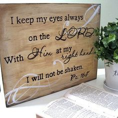 Wall sayings on something other than your wall.... canvas or wood, glass, sheet metal?