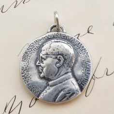 Hey, I found this really awesome Etsy listing at https://www.etsy.com/listing/244556512/st-josemaria-escriva-medal-patron-of