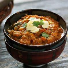 Pumpkin Black Eyed Pea Chard Chili. One pot Vegan meal.
