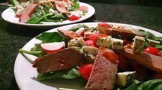 Polskie South Beach: Sałata z wołowiną i serem pleśniowym