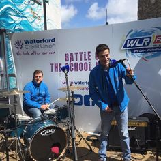The WLR FM street team are at The Reg for Waterford Credit Union Battle of the Bands #wlrfm #Waterford #creditunion #battleofthebands