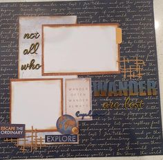 Travel Journal Scrapbook, Scrapbook Pages, Scrapbooking, Page Layout, Layouts, Travel Memories, Finding Yourself, Journey, Italy
