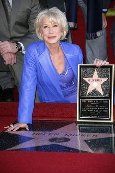 Helen Mirren was honored with a Star on the Hollywood Walk of Fame on Thurs Jan 3, 2013 http://celebhotspots.com/hotspot/?hotspotid=25124&next=1