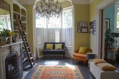 A Santa Cruz Victorian Fit for a Queen | Design*Sponge