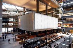 Emil Sodersten Award for Interior Architecture: ANZ Centre, Melbourne, VIC, Photo: Earl Carter