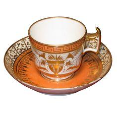 Coalport demitasse cup and saucer Cup And Saucer Set, Tea Cup Saucer, Vintage Tableware, Vintage Teacups, Vintage China, Antique Tea Cups, Cafetiere, Teapots And Cups, Tea Service