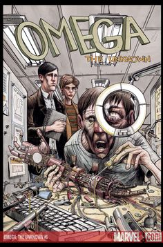 Omega the Unknown #6, Jonathan Lethem - Farel Dalrymple