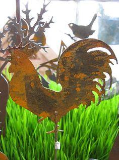 Rusty Garden Art