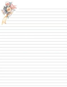 Printable Notebook Paper  Inspiration Planners And Bullet