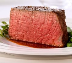 These Center Cut USDA PRIME Grade Filet Mignon steaks are dry-aged 21 days. Prime Grade Tenderloins are very rare, which puts these steak at the top of the list. This filet mignon is Beef Tenderloin Filet Mignon, Beef Tenderloin Recipes, Filet Mignon Steak, Beef Filet, Filet Migon, Steak Recipes, Carne, Tapas, Kobe Beef