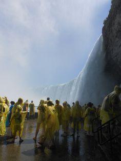 beside the Horseshoe Falls, Niagara Falls Canada