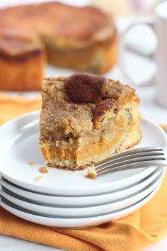 Pumpkin Coffee Cake from @Jess Smith (InquiringChef.com)