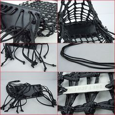 leather knot sling bag • helmut lang100 円
