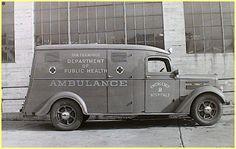Vintage Ambulance Photo Collection Courtesy Of Kenneth Burdyny Riverview Ambulance Winnipeg Canada