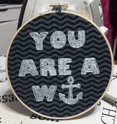 This double sided hoop is needed!!! Love it