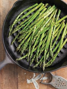 5-Ingredient Side Dish: Grilled #Asparagus with Rosemary Oil & Parmesan