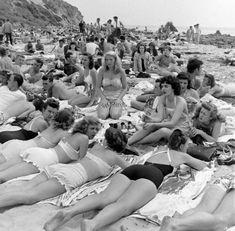Ах, Лето! - история в фотографиях-1947 Бальбоа Бич, Калифорния