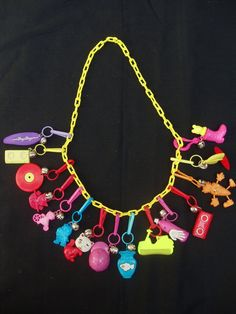 Of all the 80s stuff I wish I still had, my charm necklace is near the top
