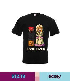T-Shirts Men's T-Shirt Game Over, Wedding T-Shirt, Bachelor Party T-Shirt, Funny Tee #ebay #Fashion