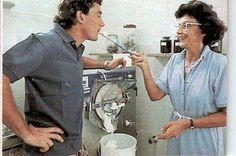 Ayrton with his mum