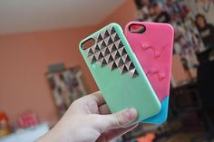 cute iphone cases. ♡ If i only had an iphone to go with them...