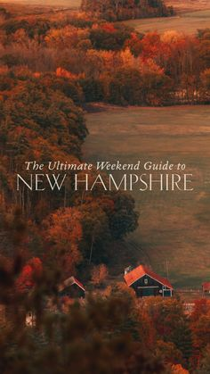 A Weekend Guide to North Conway, New Hampshire - elanaloo.com