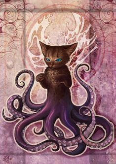steampunktendencies: Octopus Kitty