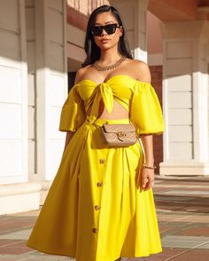 Image may contain: 1 person, standing and sunglasses American Lady, American Women, Chic Couture Online, Sunnies, Sunglasses, Image, Outfits, Dresses, Style