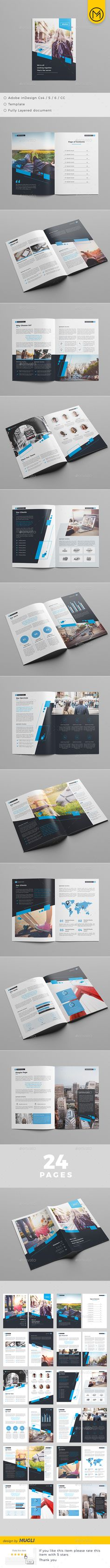 The Brochure Brochure Template InDesign INDD