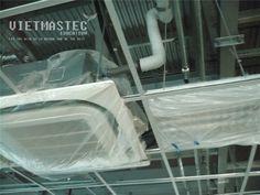 Hình ảnh lắp đặt ống nước ngưng điều hòa ( installation condensate pipe for AC)