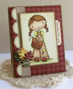 A Paper Melody cards handmade fall