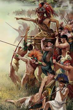conquistador musket of the aztec battle - Google Search