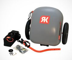 RideKick..electrical power boost for your bicycle...up to 19 MPH push uphill...