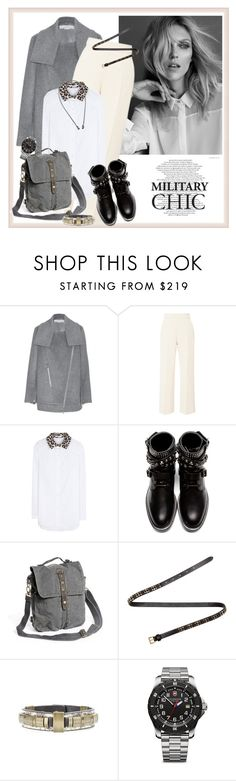 """""""Major Military Style♥♥♥"""" by marthalux ❤ liked on Polyvore featuring STELLA McCARTNEY, Delpozo, Carven, Yves Saint Laurent, Miu Miu, Isabel Marant, Victorinox Swiss Army, Marina Fossati, MilitaryStyle and militarychic"""