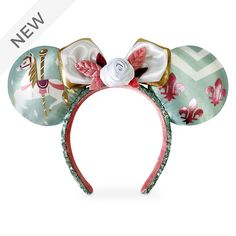 Disney Minnie Mouse Ears, Mickey Ears, Disney Mickey, Disney Fun, Disney Dream, Disney Style, Disney Ears Headband, Ear Headbands, Disney Headbands