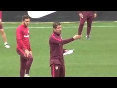 Trening tech-tak Atletico Madryt - YouTube