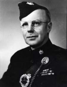 Lieutenant Colonel W. T. Barnard, ED, CD 23rd Commanding Officer