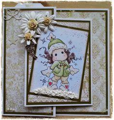 Handmade by Krista Magnolia Stamps, Frame, Cards, Handmade, Decor, Hand Made, Decoration, Map, Home Decoration