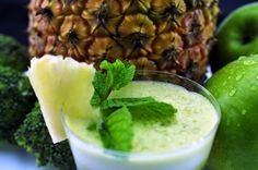 Suco detox abacaxi – Receitas