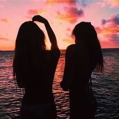 Sunsets with my bff